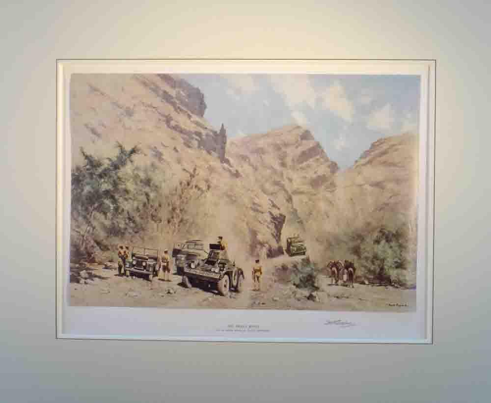 david shepherd Dhala road print mounted