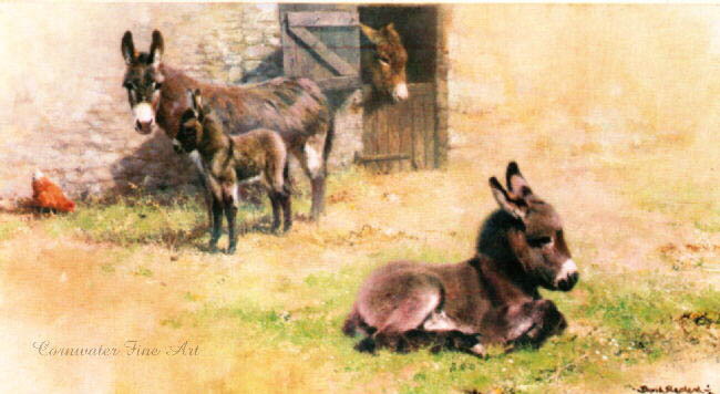 david shepherd donkeys