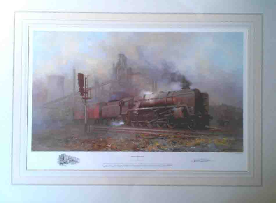 heavy freight, steam, trains david shepherd