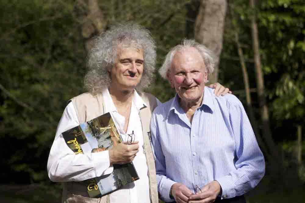 david shepherd, brian may, photo