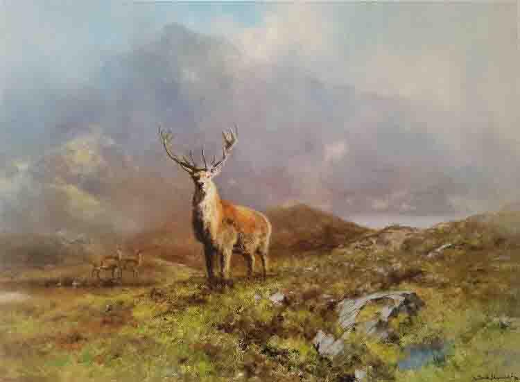 david shepherd prince of rannoch moor
