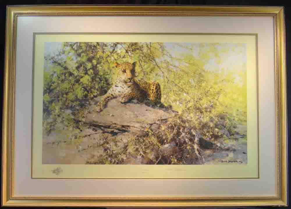 david shepherd Sentinel, print, framed