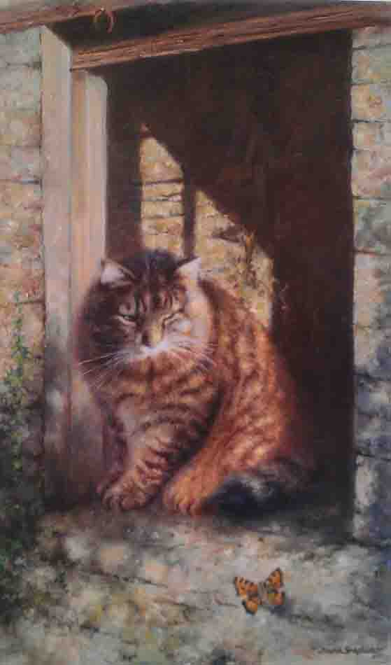 david shepherd whisky the farmyard cat
