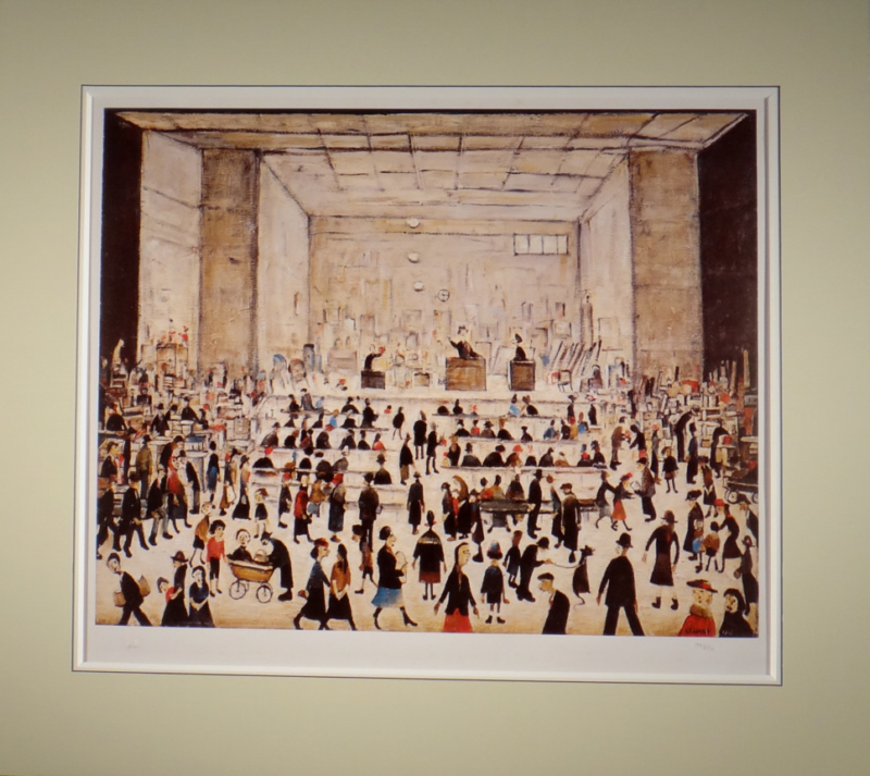 lowry auction mounted