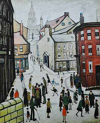 berwick, Lowry original signed limited edition prints