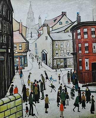 berwick, Lowry original signed limited edition prints