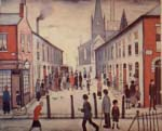 lowry, signed, prints, fever van