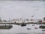 ls lowry the harbour print