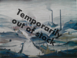 lowry signed prints, industrial panorama