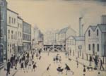 ls lowry level crossing Burton on Trent print
