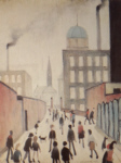 lowry signed prints, mrs swindell's picture