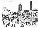 A Northern Town, Lowry original signed limited edition lithograph