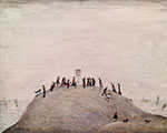 ls lowry the noticeboard print