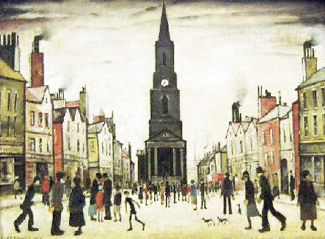 lowry berwick original painting