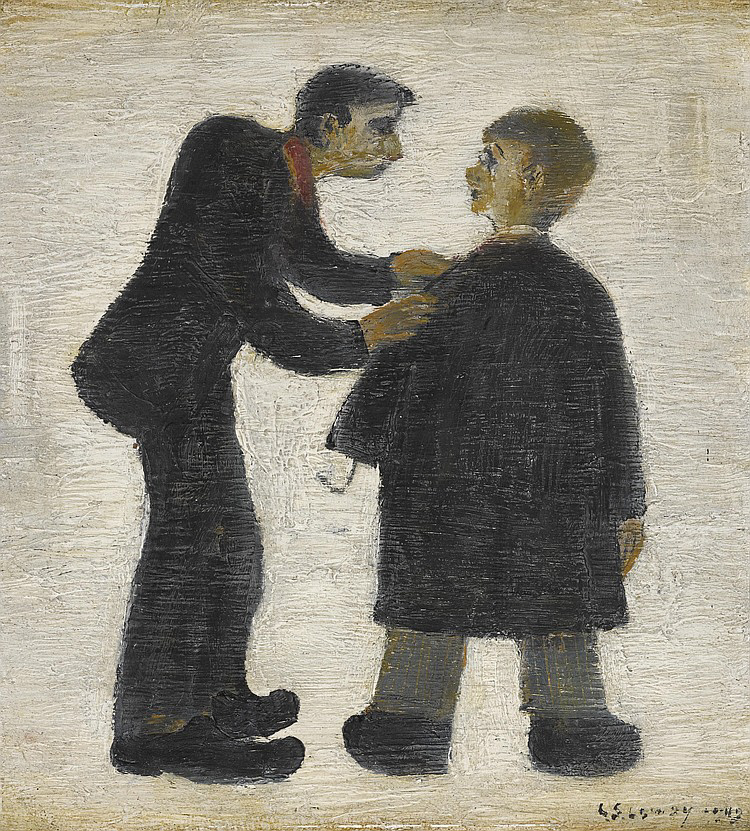 lowry cripples original painting