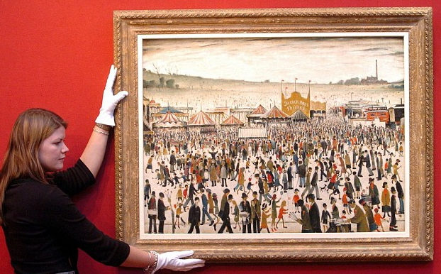 lowry original daisy nook auction