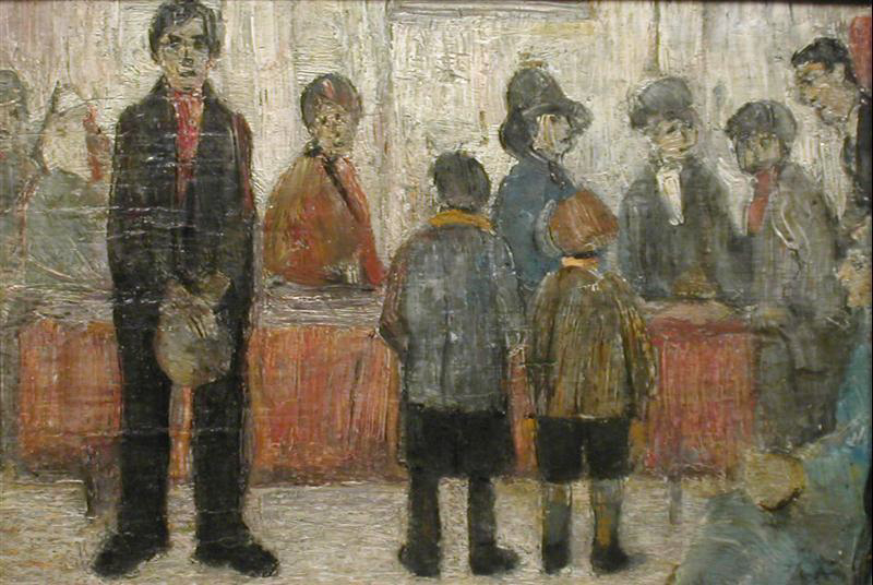 l s lowry s painting waiting for The hard truth is that if anyone is responsible for overlooking l s lowry here is an environmental disaster waiting 'lowry and the painting of modern.