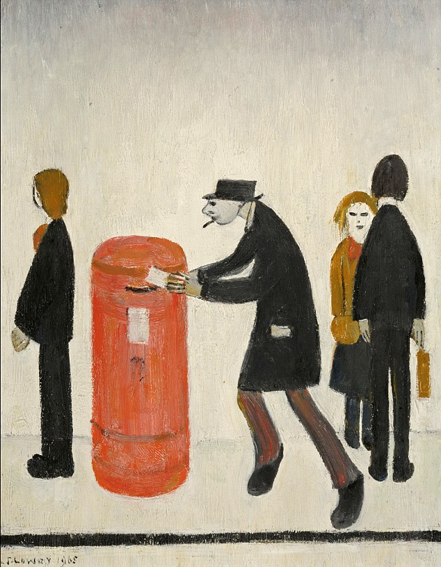lowry first class original painting
