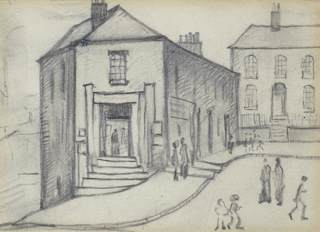 lowry Stockport original drawing