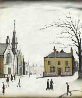 lowry stow-on-the-wold original painting