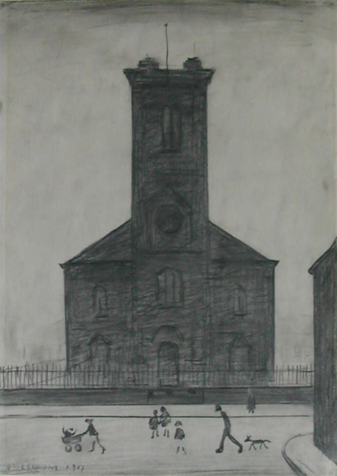 lowry st. stephen's church, drawing