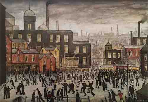 lowry, signed, prints, our town