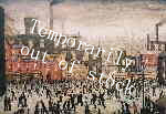 ls lowry our town print