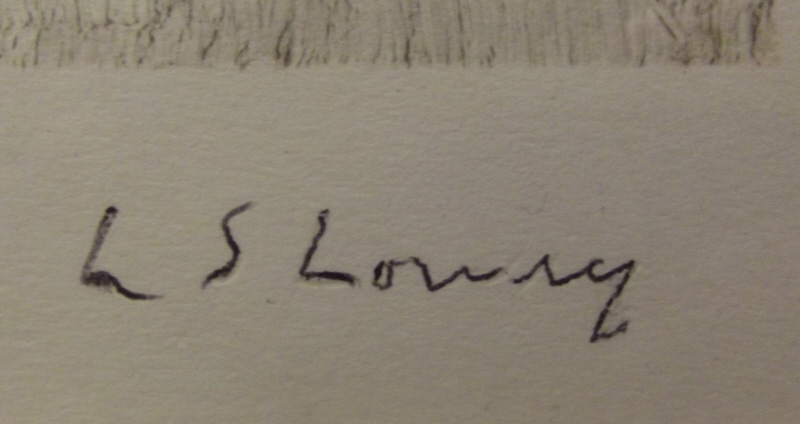lowry overwritten signature