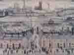 ls lowry britain at play, signed, limited edition,print