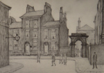 ls lowry county court salford, signed, limited edition,print