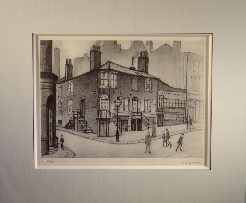 lowry, signed limited edition print, Great Ancoats Street