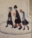 lowry, signed prints, the family