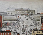 lowry prints, station approach