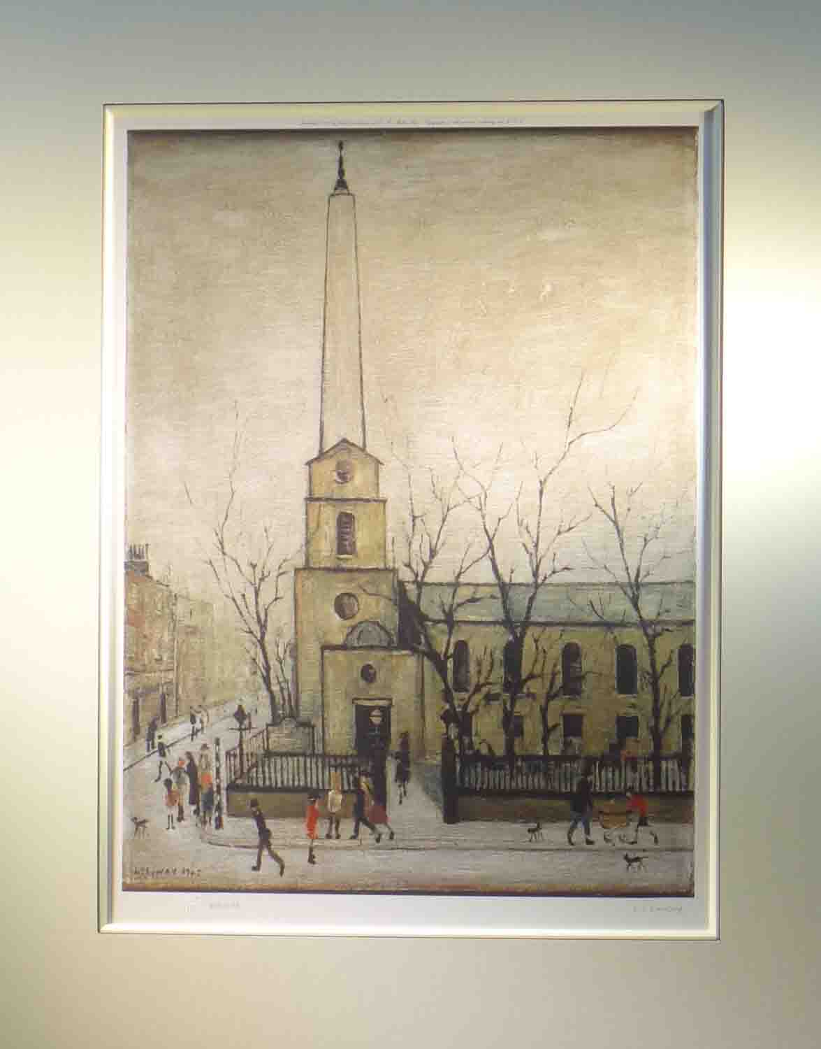 st lukes lowry mounted