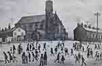 lowry signed prints, st. mary's Beswick