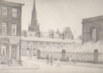 ls lowry st. philip's church salford print