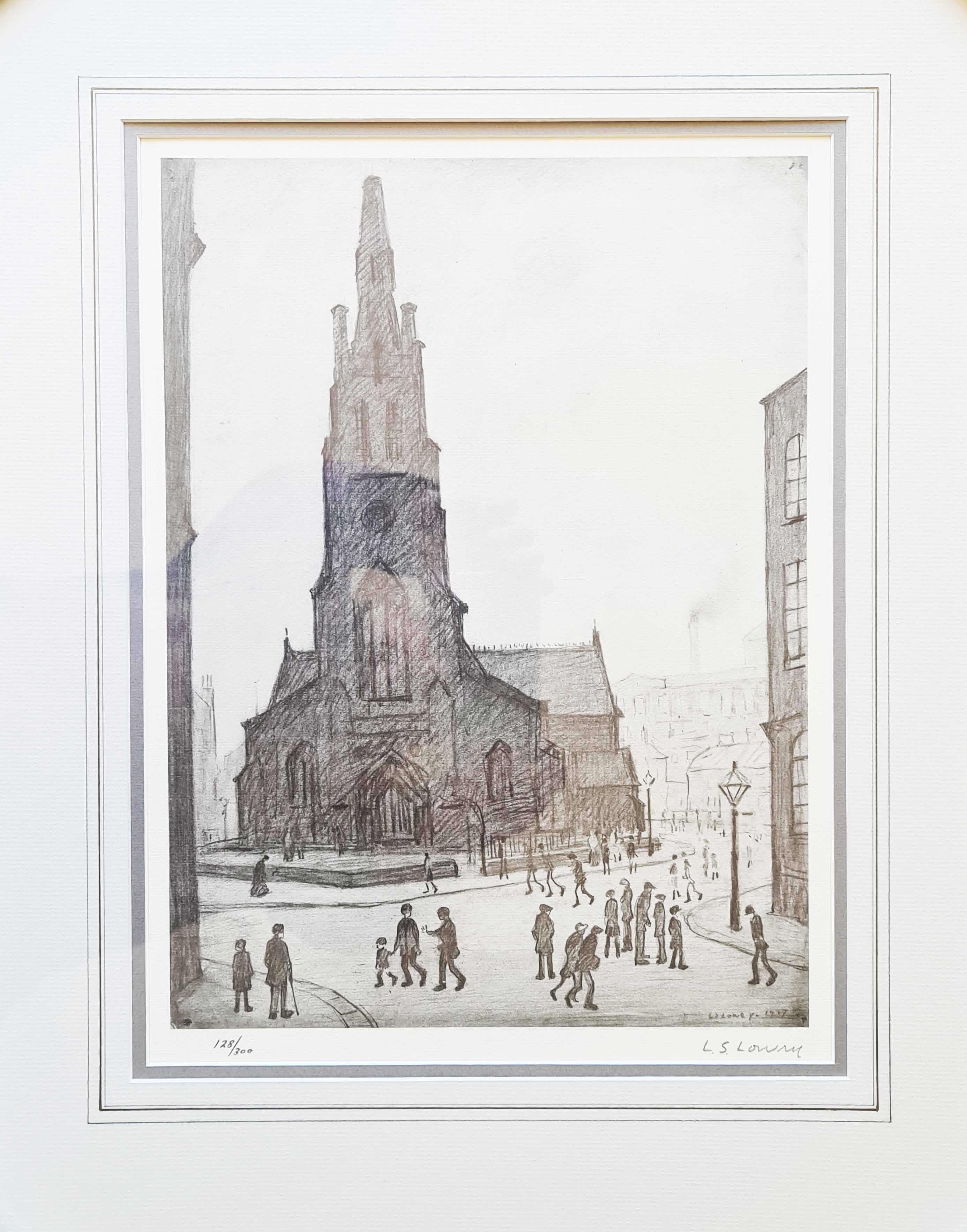 lowry st. simon's church mounted