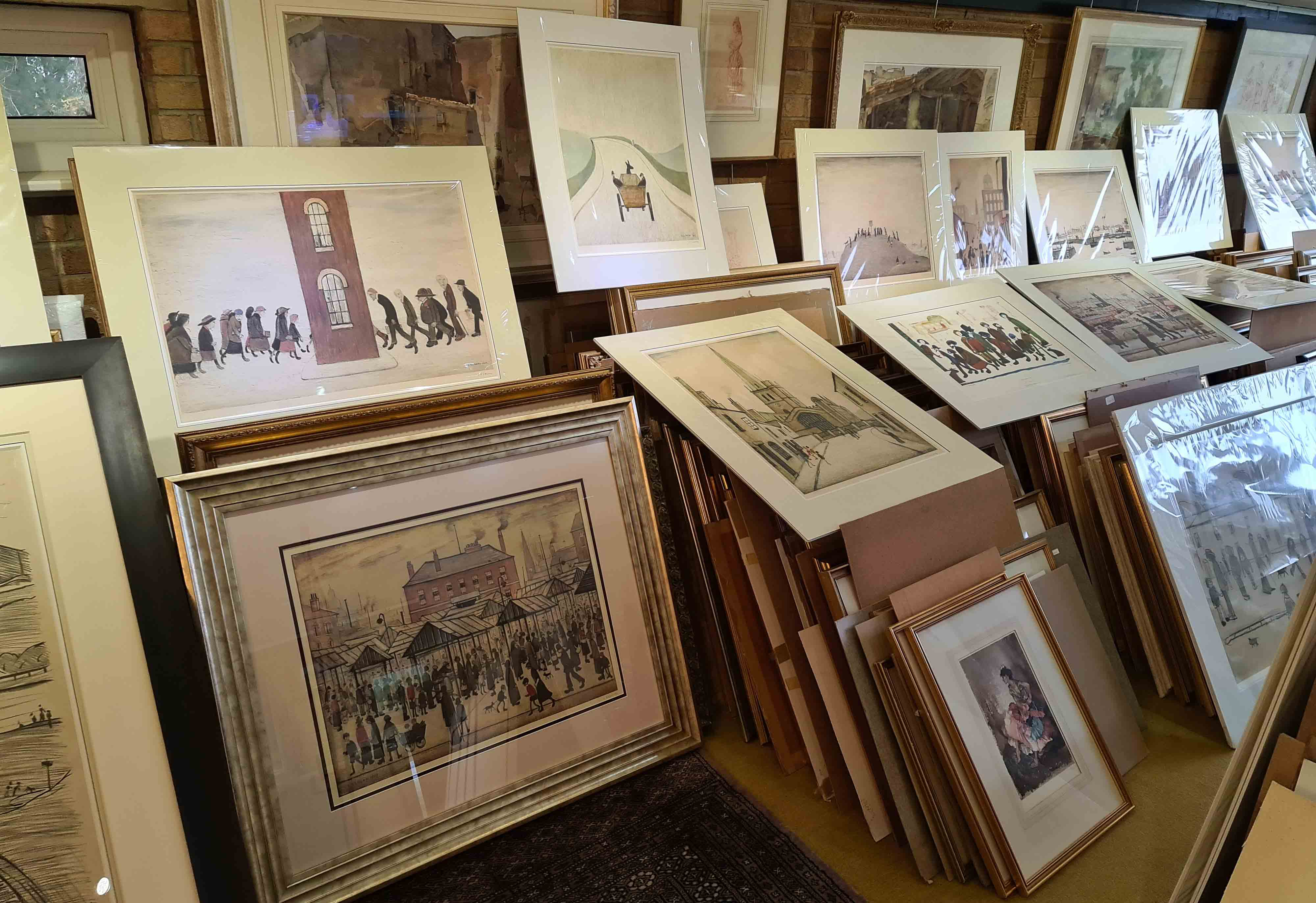 lowry studio 6 prints