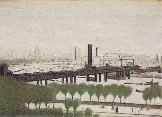 original lowry painting