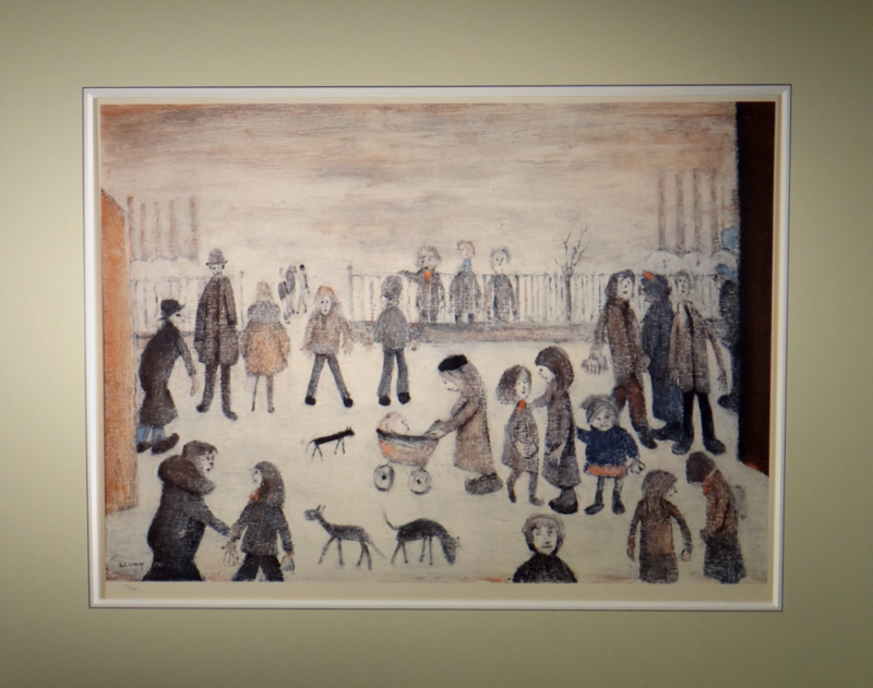 lowry, the park, limited edition print