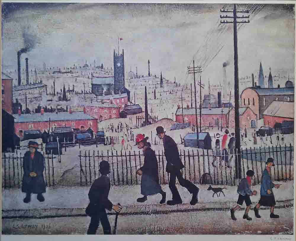 lowry view of a town